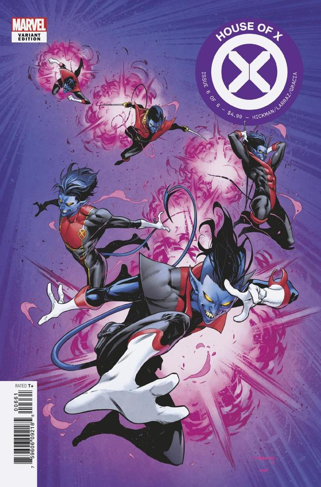 House Of X #6 Cover D Variant Iban Coello Character Decades Cover