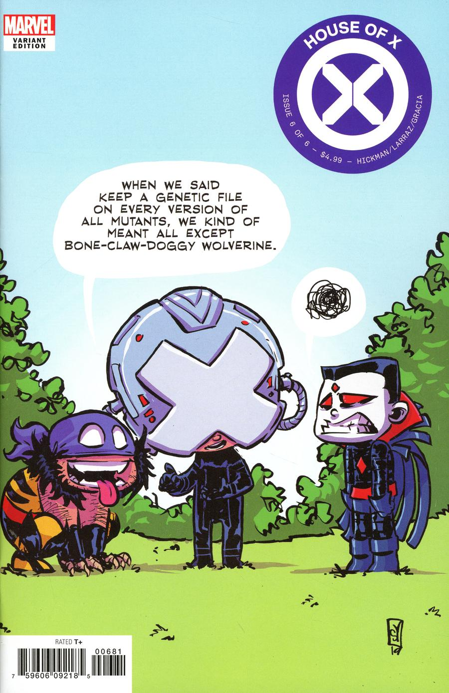 House Of X #6 Cover F Variant Skottie Young Cover