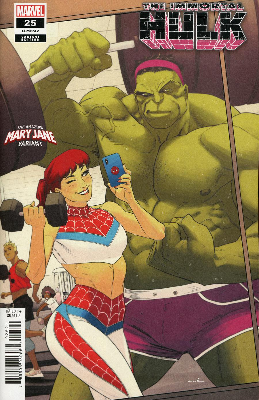 Immortal Hulk #25 Cover B Variant Kris Anka Mary Jane Cover