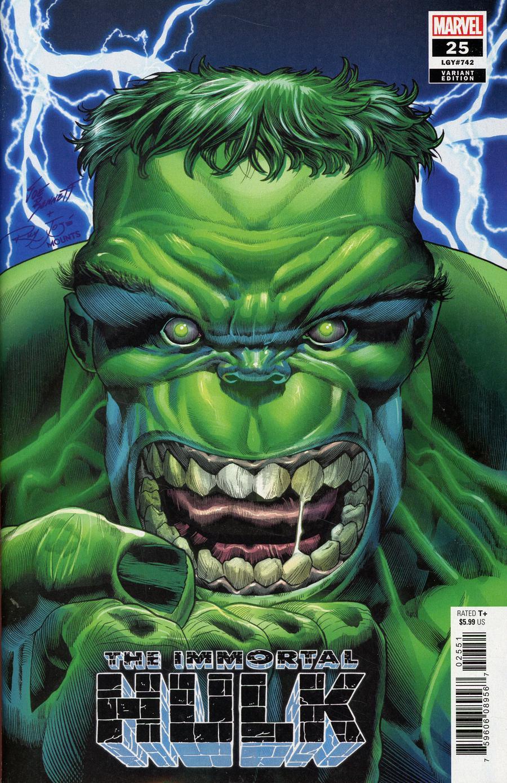 Immortal Hulk #25 Cover C Variant Joe Bennett Cover