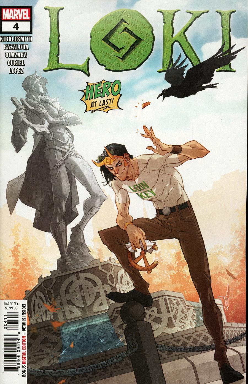 Loki Vol 3 #4 Cover A Regular Ozgur Yildirim Cover