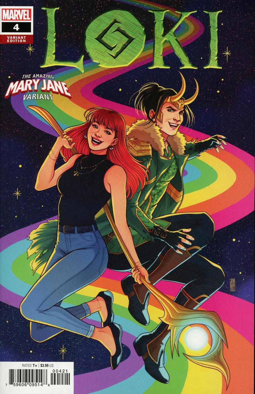 Loki Vol 3 #4 Cover B Variant Jen Bartel Mary Jane Cover