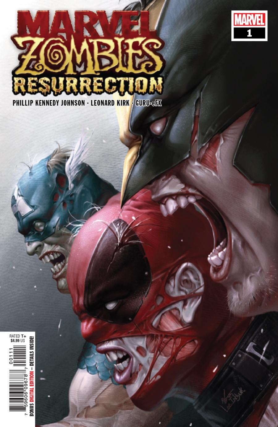 Marvel Zombies Resurrection One Shot Cover A Regular Inhyuk Lee Cover