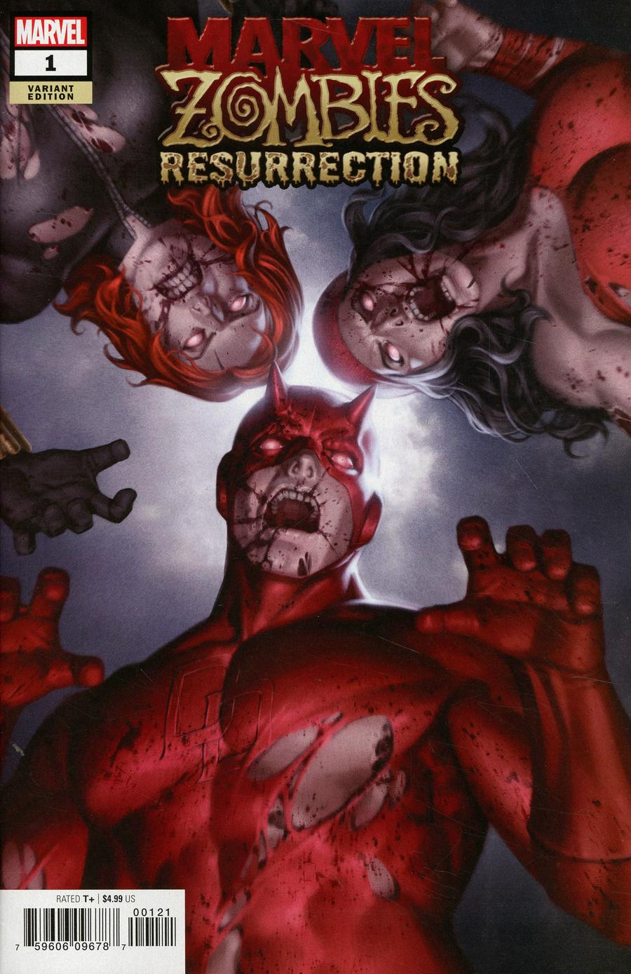 Marvel Zombies Resurrection One Shot Cover B Variant Junggeun Yoon Cover