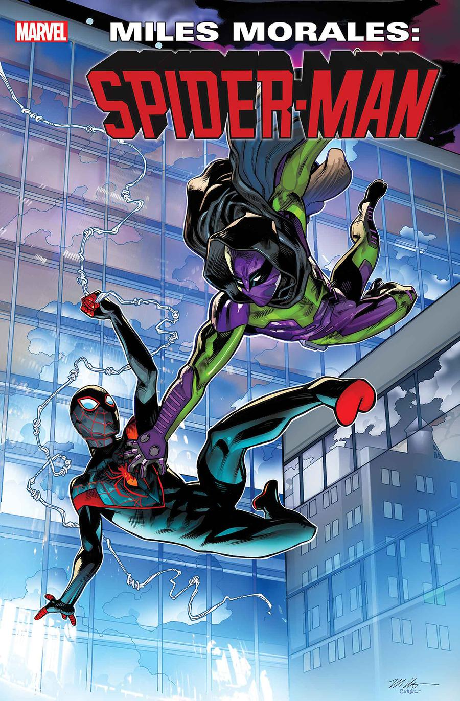 Miles Morales Spider-Man #11 Cover A Regular Mike Hawthorne Cover