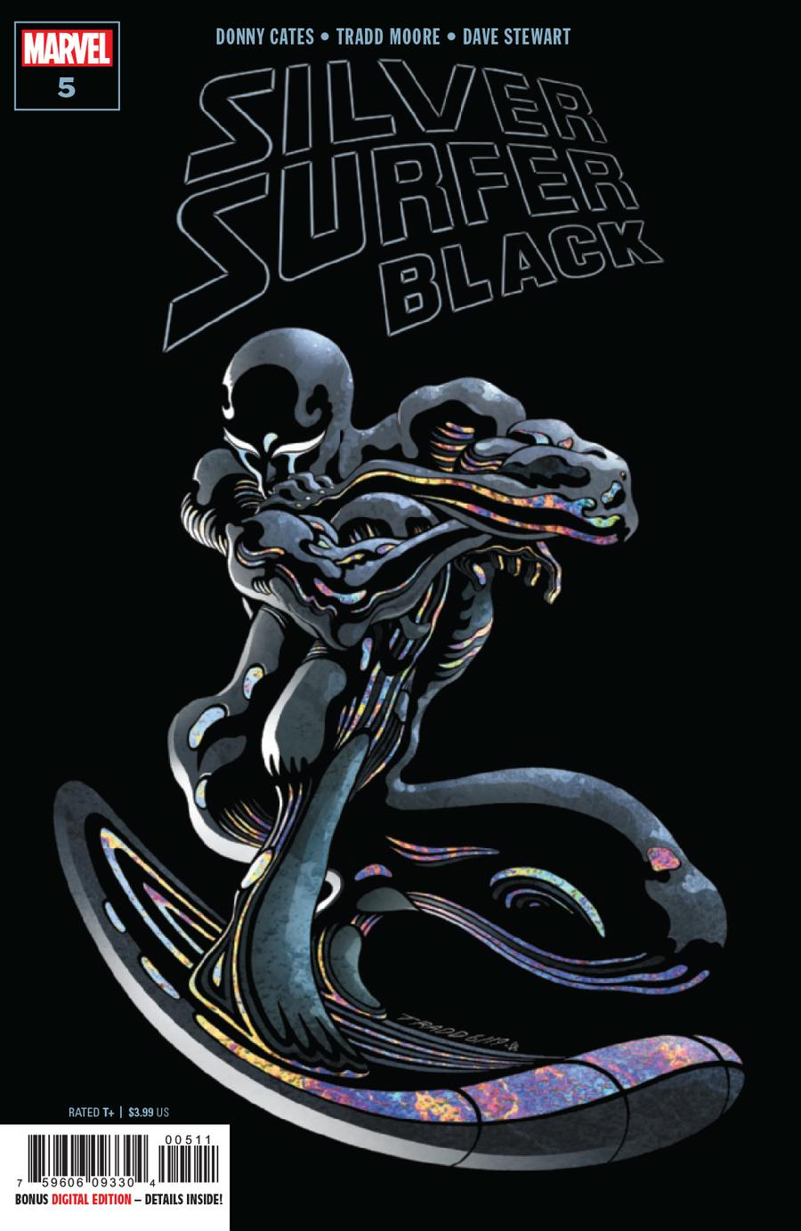 Silver Surfer Black #5 Cover A 1st Ptg Regular Tradd Moore Cover