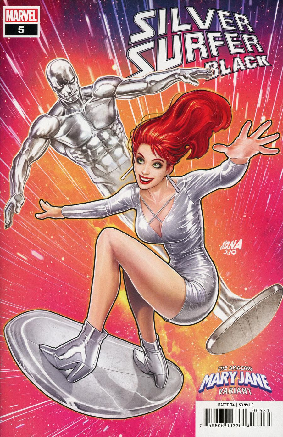 Silver Surfer Black #5 Cover C Variant David Nakayama Mary Jane Cover