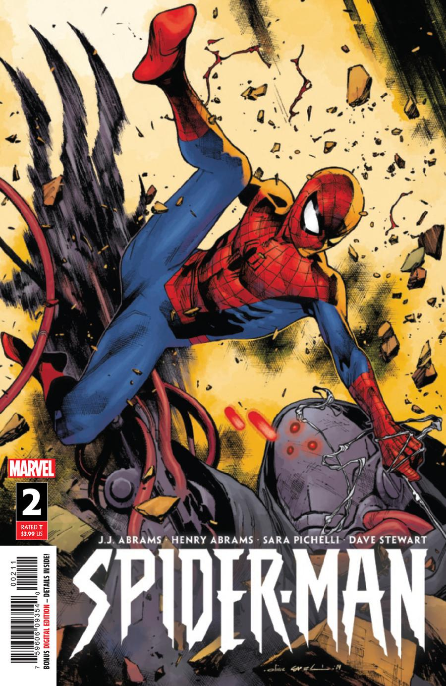 Spider-Man Vol 3 #2 Cover A 1st Ptg Regular Olivier Coipel Cover