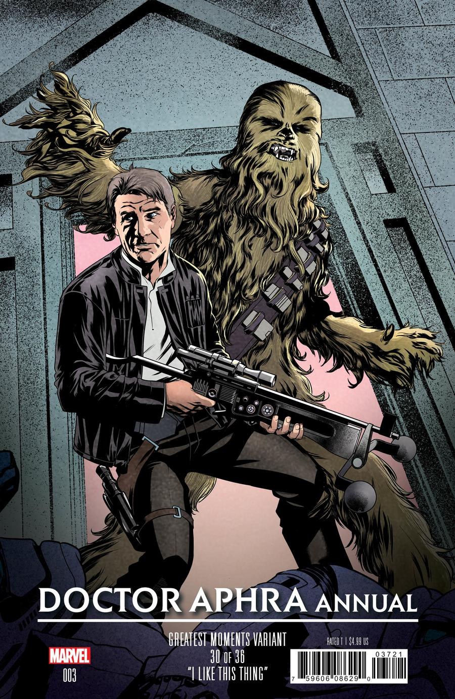 Star Wars Doctor Aphra Annual #3 Cover B Variant Mike McKone Greatest Moments Cover