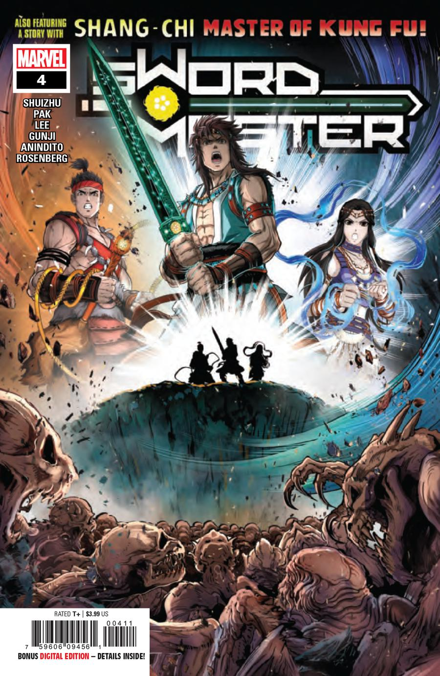 Sword Master #4 Cover A Regular Gunji Cover