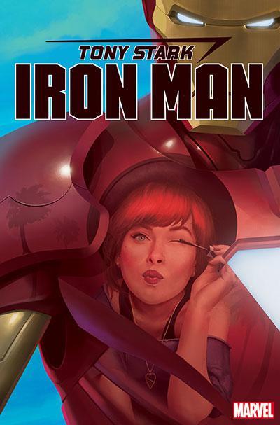 Tony Stark Iron Man #17 Cover B Variant Rahzzah Mary Jane Cover
