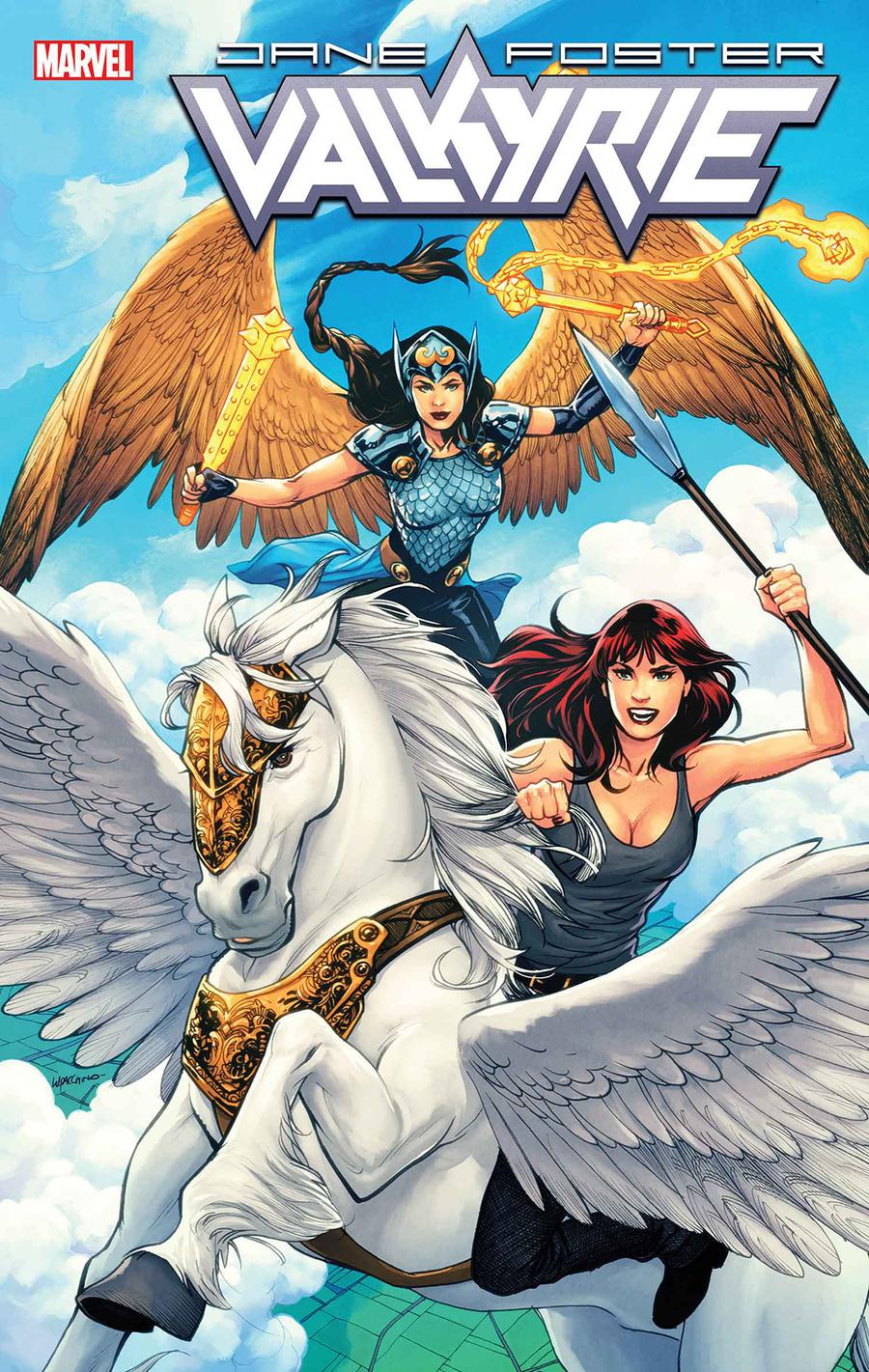 Valkyrie Jane Foster #4 Cover B Variant Emanuela Lupacchino Mary Jane Cover