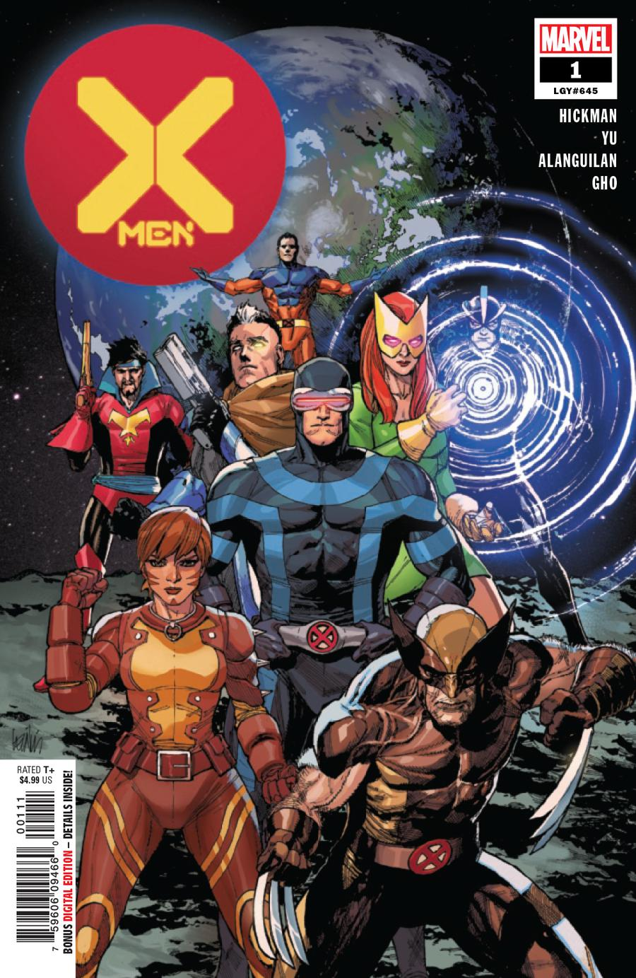 X-Men Vol 5 #1 Cover A 1st Ptg Regular Leinil Francis Yu Cover (Dawn Of X Tie-In)