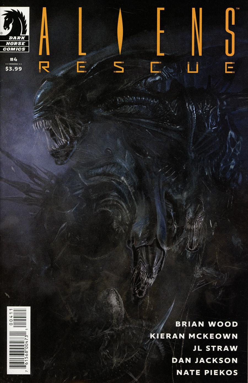 Aliens Rescue #4 Cover A Regular Roberto De La Torre Cover