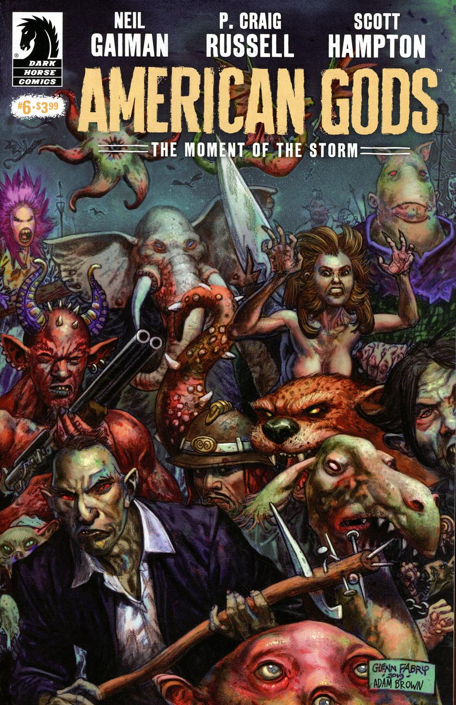 American Gods Moment Of The Storm #6 Cover A Regular Glenn Fabry Cover