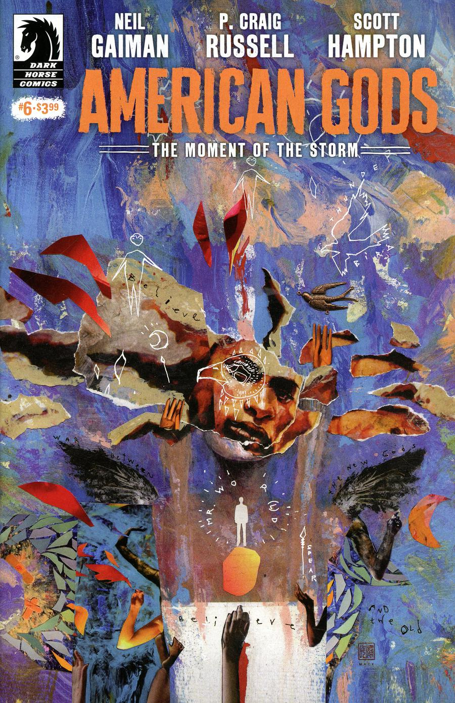 American Gods Moment Of The Storm #6 Cover B Variant David Mack Cover