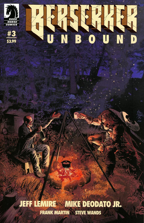 Berserker Unbound #3 Cover A Regular Mike Deodato Jr Cover