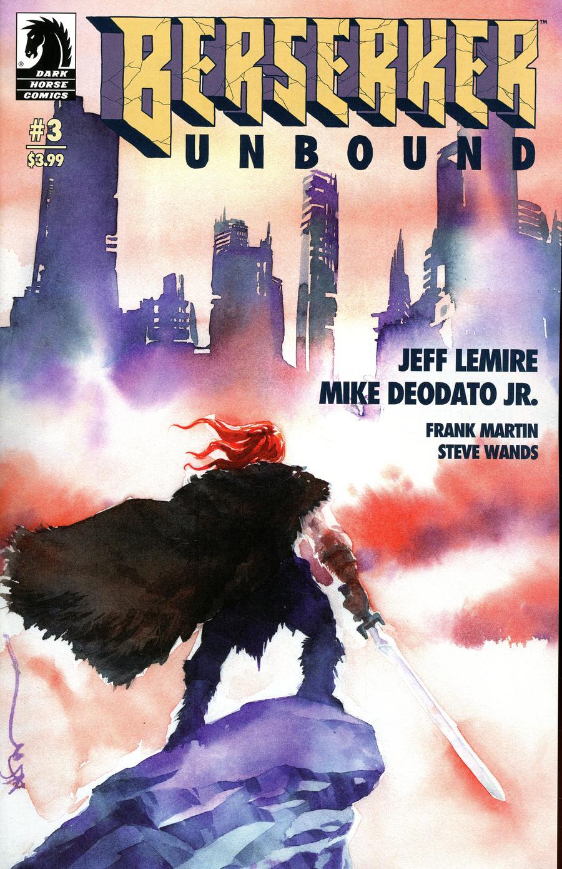 Berserker Unbound #3 Cover B Variant Dustin Nguyen Cover