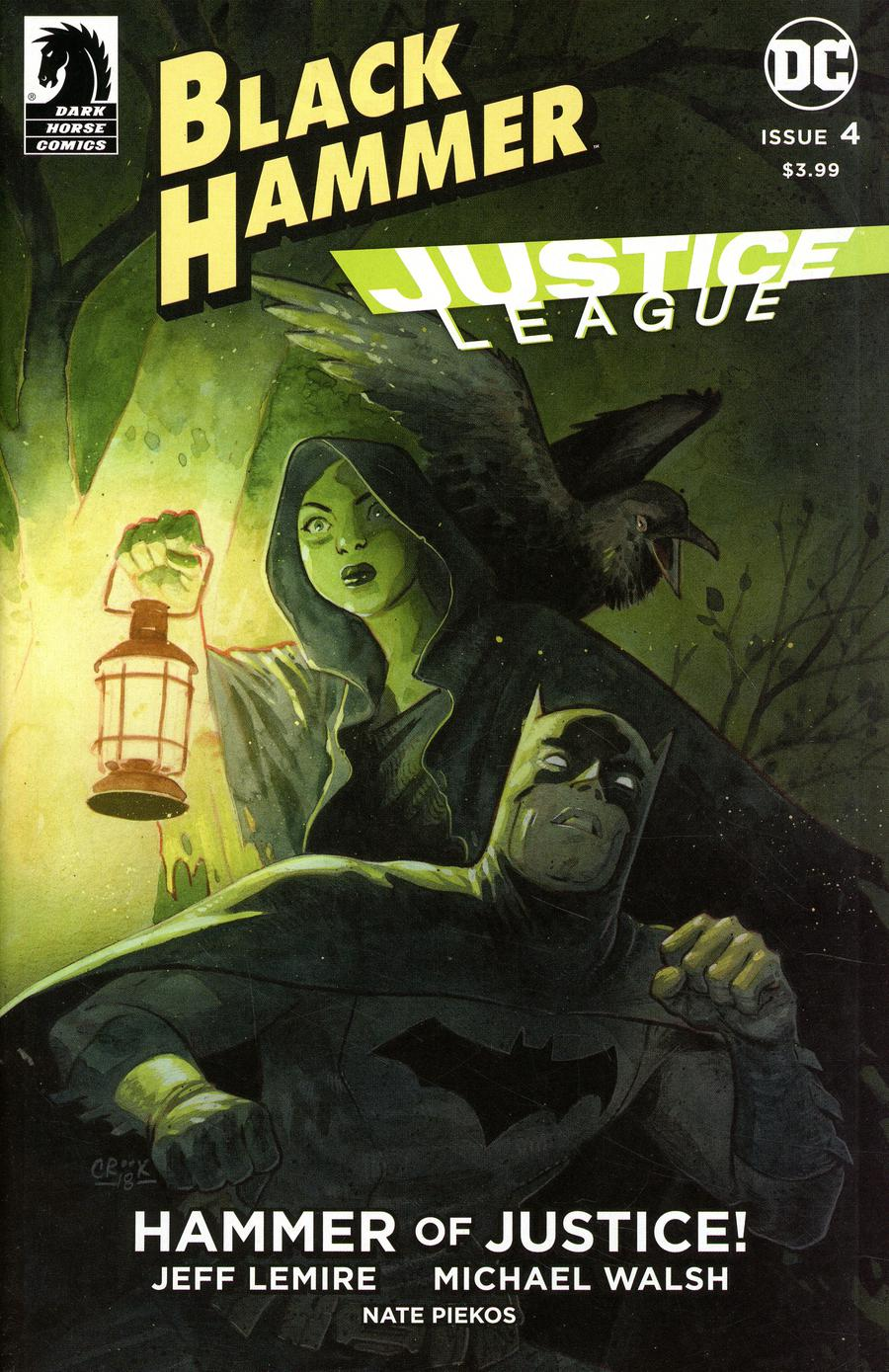Black Hammer Justice League Hammer Of Justice #4 Cover E Variant Tyler Crook Cover