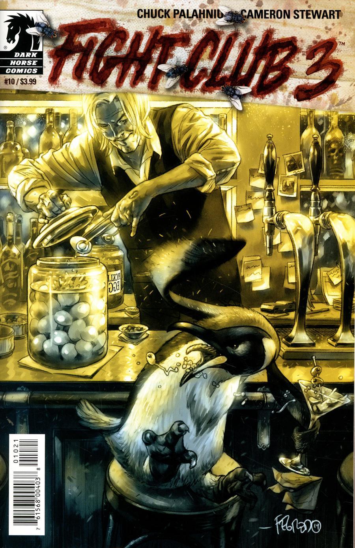 Fight Club 3 #10 Cover B Variant Duncan Fegredo Cover