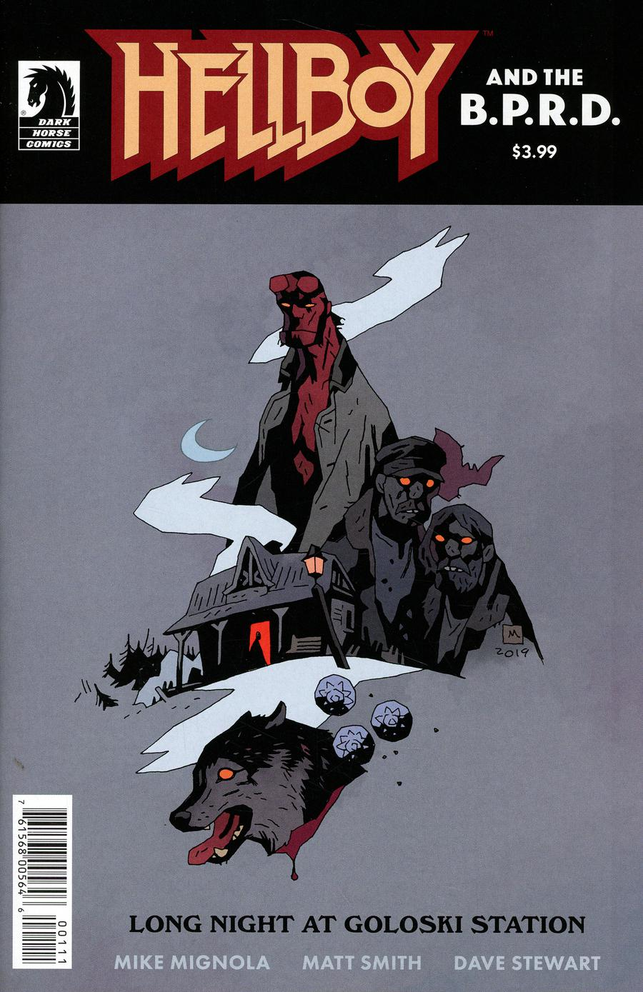 Hellboy And The BPRD Long Night At Goloski Station One Shot