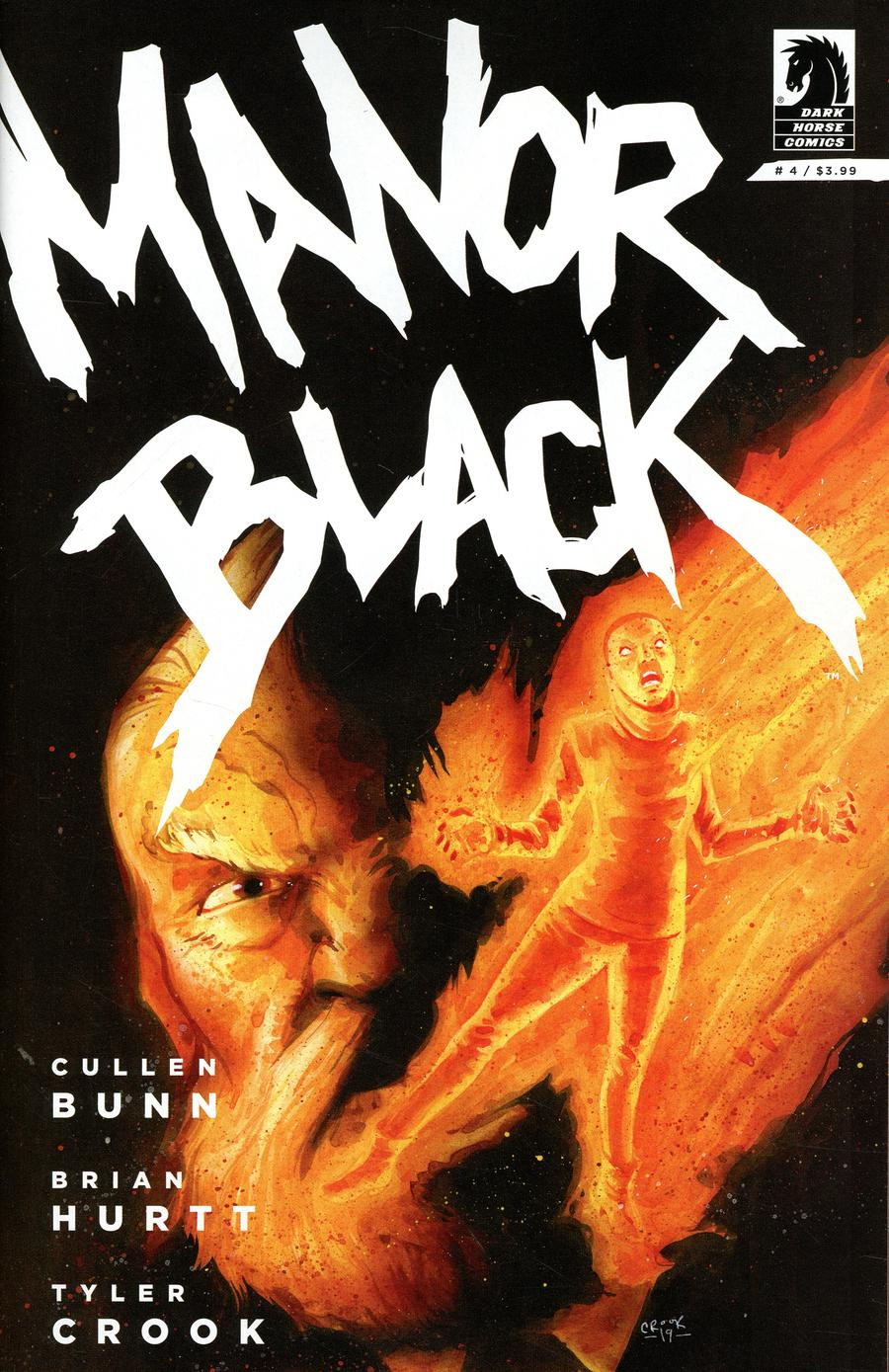 Manor Black #4 Cover A Regular Tyler Crook Cover
