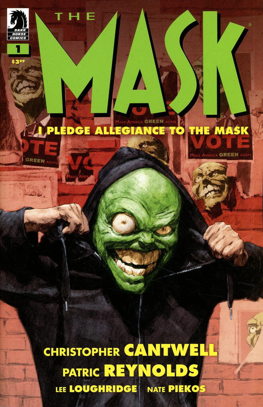 Mask I Pledge Allegiance To The Mask #1 Cover A Regular Patric Reynolds Cover