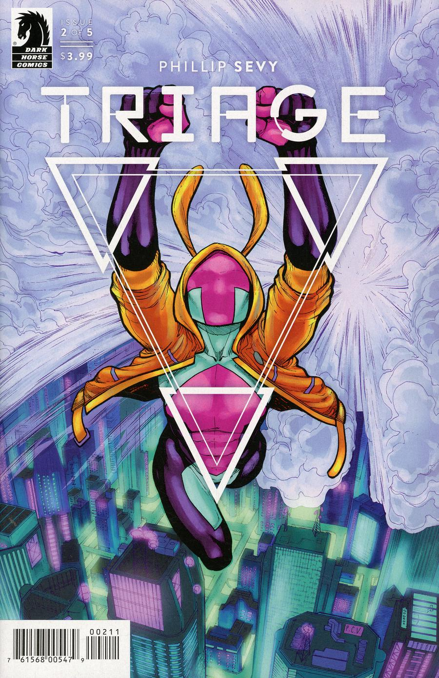 Triage #2 Cover A Regular Phillip Sevy Cover