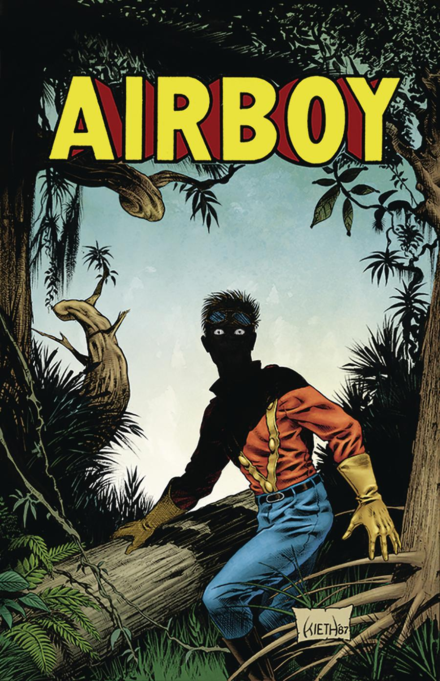 Airboy #51 Cover C Variant Sam Kieth Cover