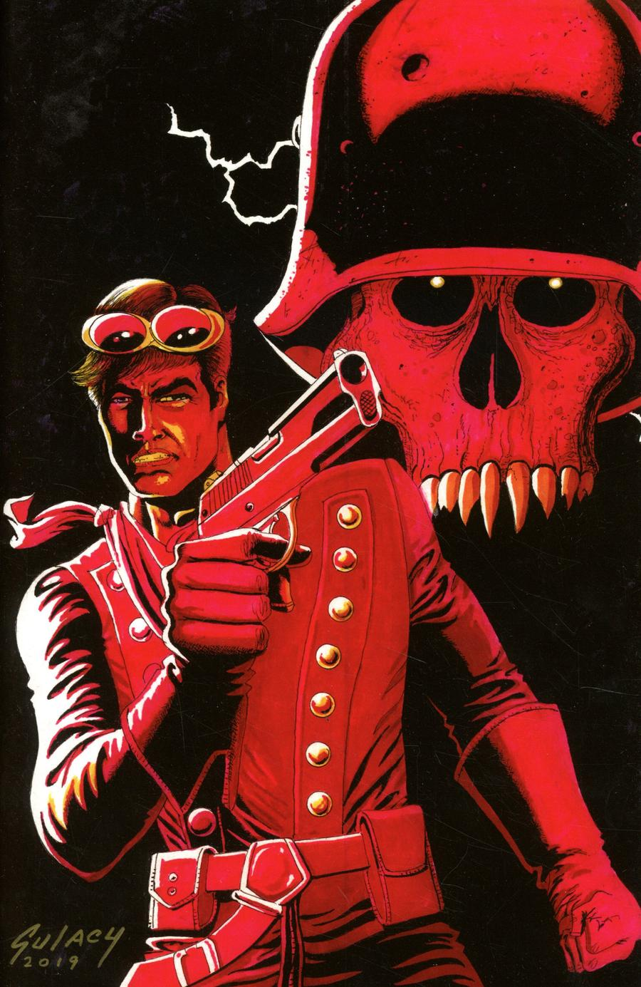Airboy #51 Cover E Variant Paul Gulacy Cover