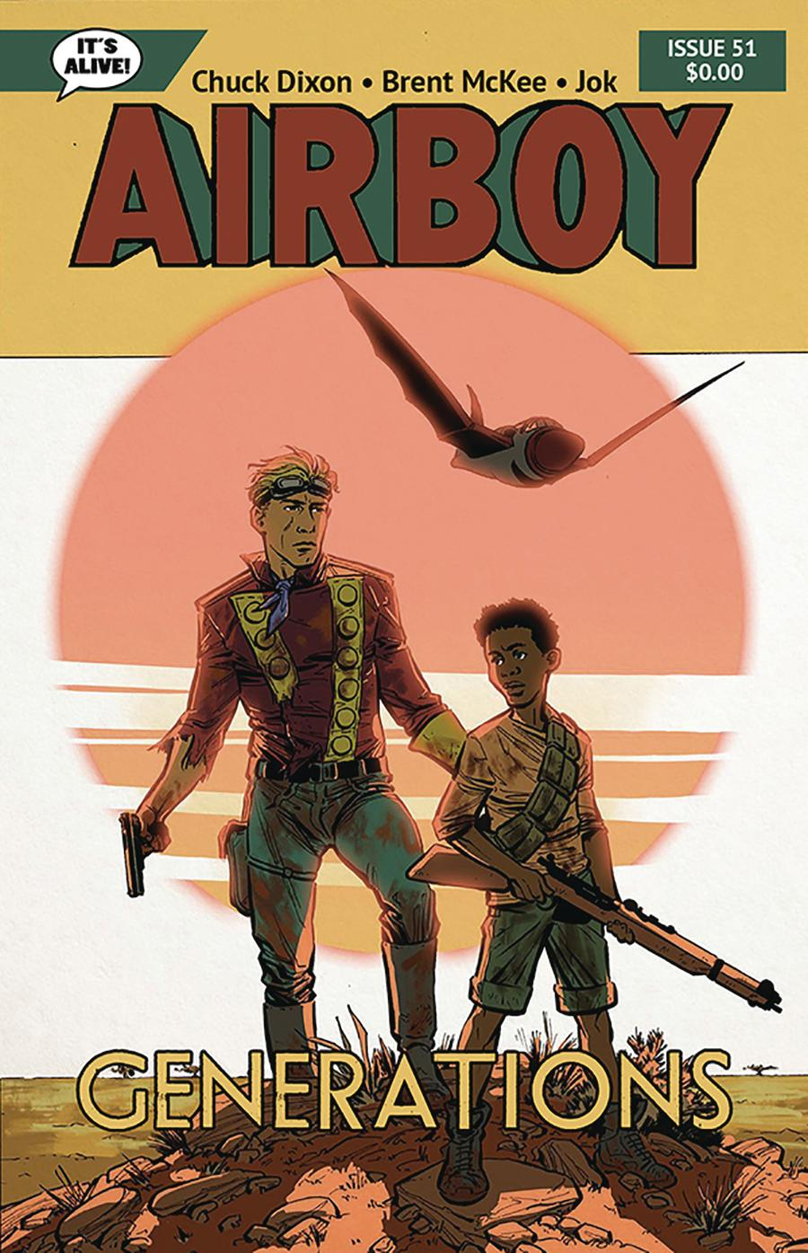 Airboy #51 Cover F Variant Dalibor Talajic Cover