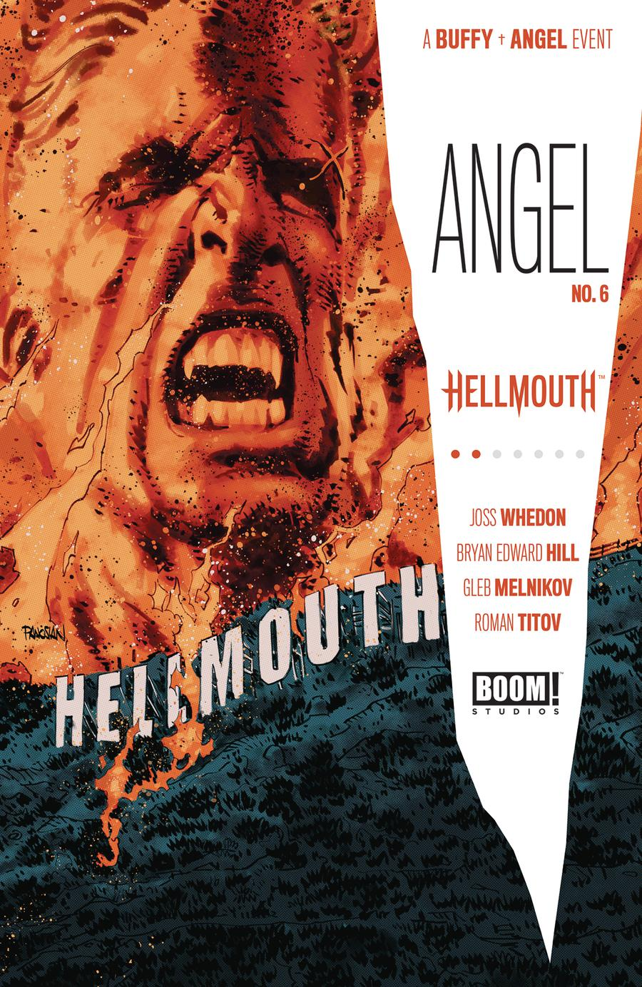 Angel Vol 4 #6 Cover A Regular Dan Panosian Cover (Hellmouth Tie-In)