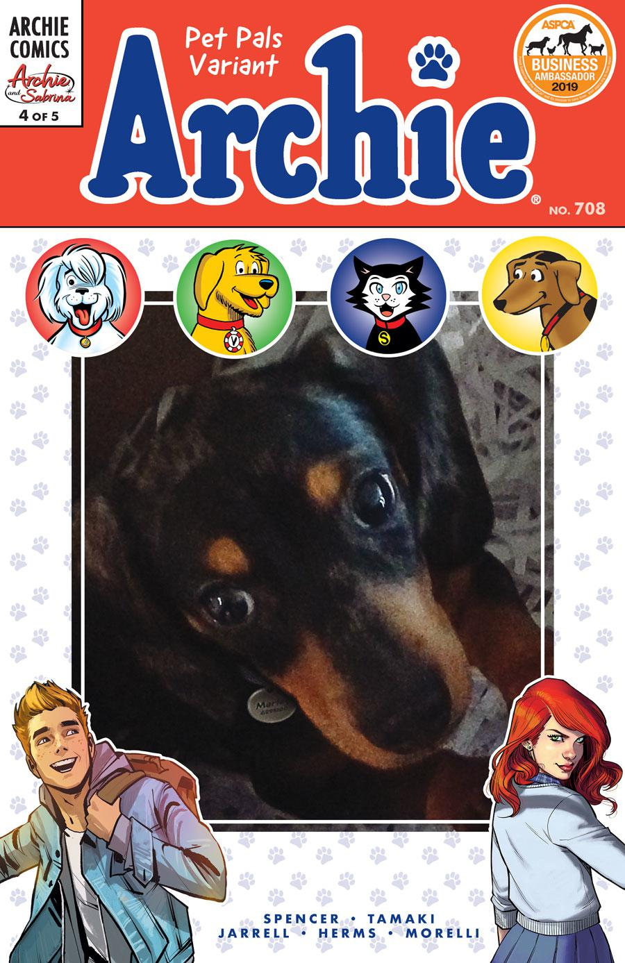 Archie Vol 2 #708 Archie And Sabrina Part 4 Cover D Variant Photo Cover