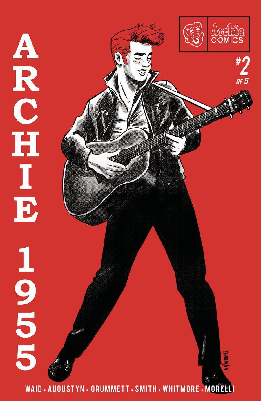 Archie 1955 #2 Cover A Regular Derek Charm Cover