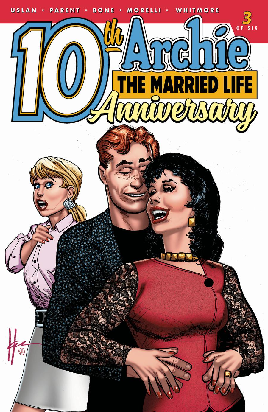 Archie The Married Life 10th Anniversary #3 Cover B Variant Howard Chaykin & Wil Quintana Cover