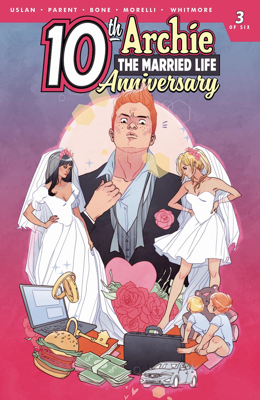 Archie The Married Life 10th Anniversary #3 Cover C Variant Marguerite Sauvage Cover