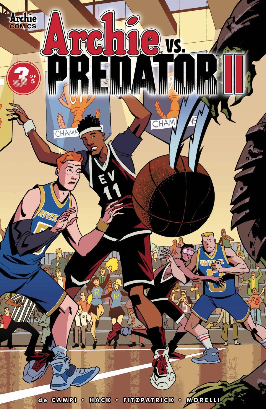 Archie vs Predator II #3 Cover C Variant Phil Hester Cover
