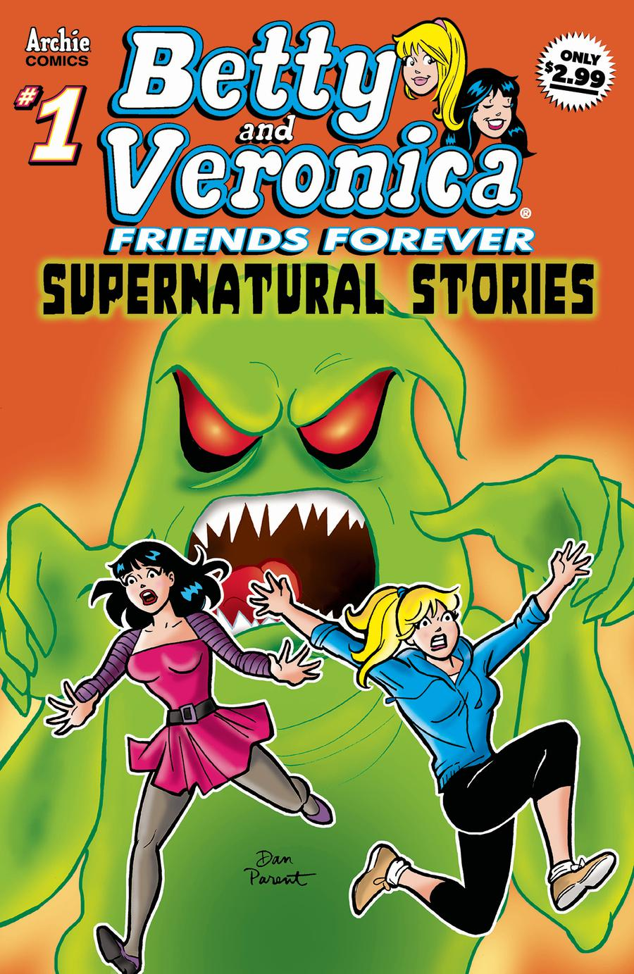 Betty & Veronica Friends Forever Supernatural #1