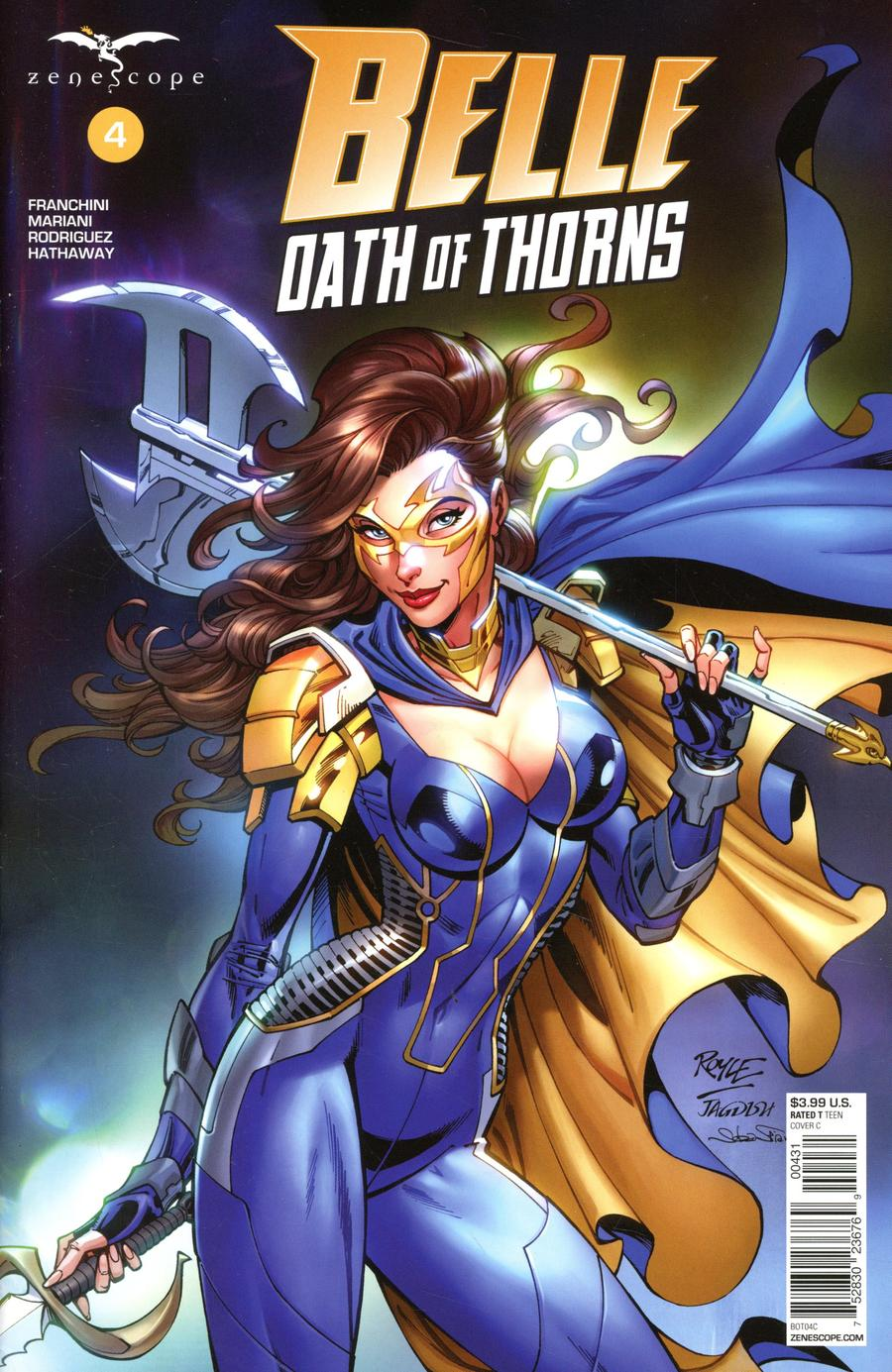 Grimm Fairy Tales Presents Belle Oath Of Thorns #4 Cover C John Royle
