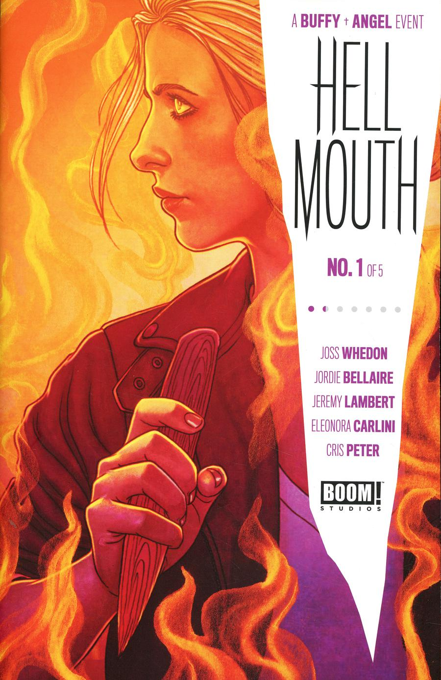 Buffy The Vampire Slayer Angel Hellmouth #1 Cover A Regular Jenny Frison Cover
