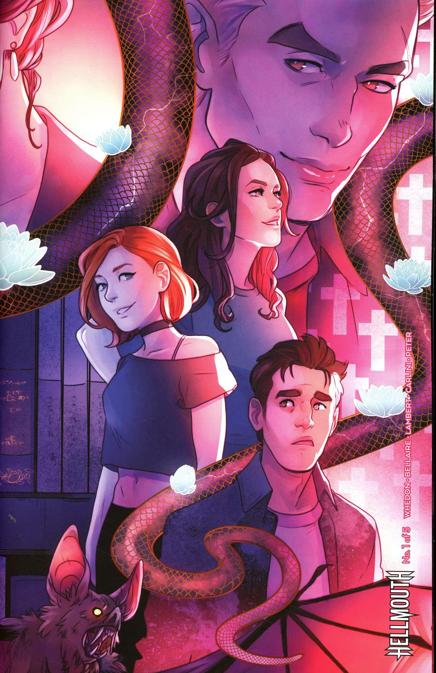 Buffy The Vampire Slayer Angel Hellmouth #1 Cover C Variant Kelly Matthews & Nichole Matthews Connecting Cover