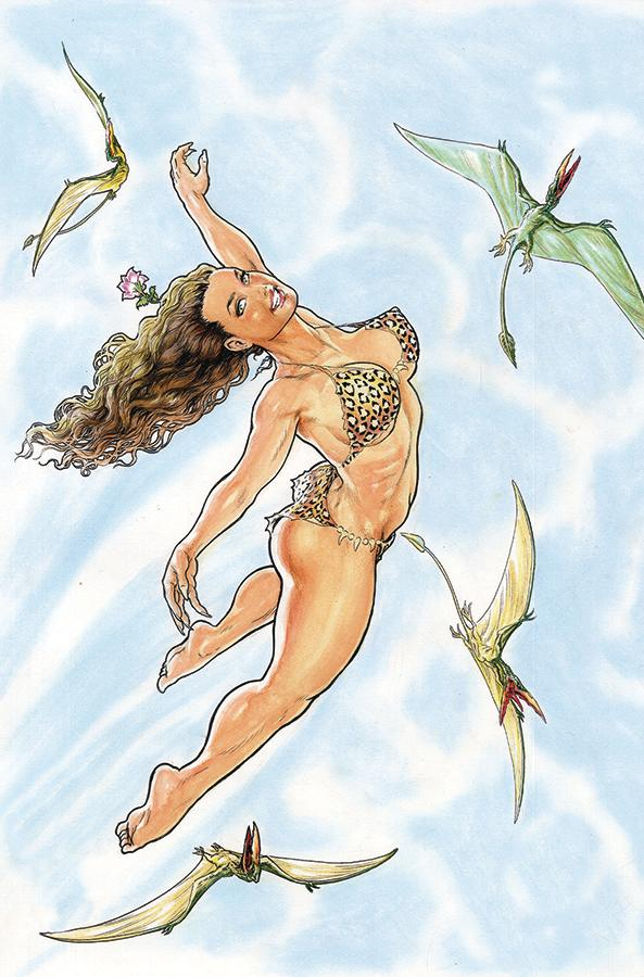 Cavewoman Terror In The Skies Cover D Variant Budd Root Cover