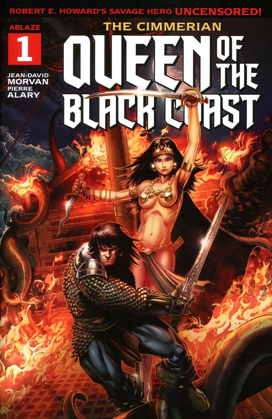 Cimmerian Queen Of The Black Coast #1 Cover A Regular Jason Metcalf Cover