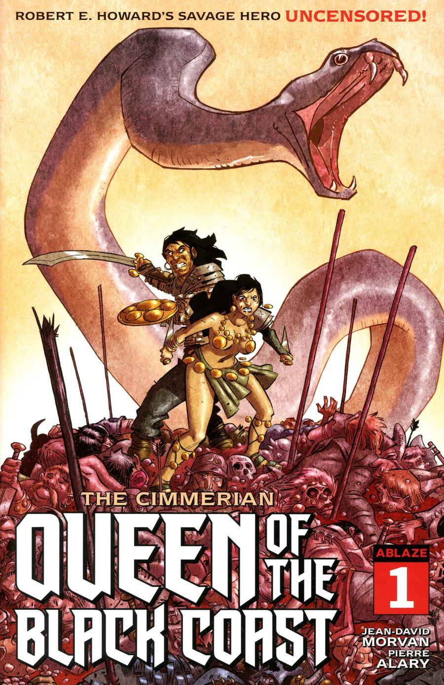 Cimmerian Queen Of The Black Coast #1 Cover D Variant Pierre Alary Cover