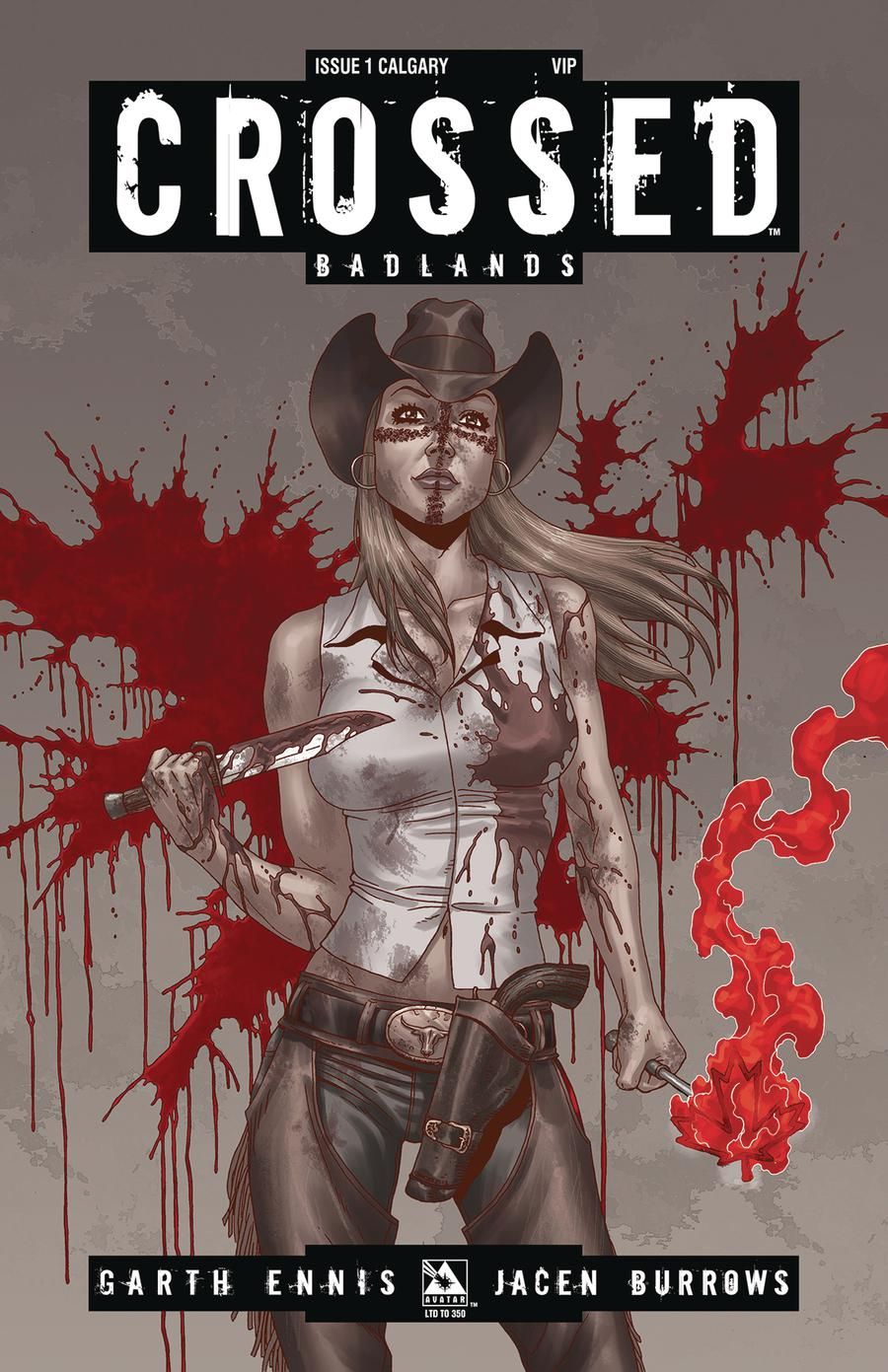 Crossed Badlands #1 Cover O Calgary VIP Cover