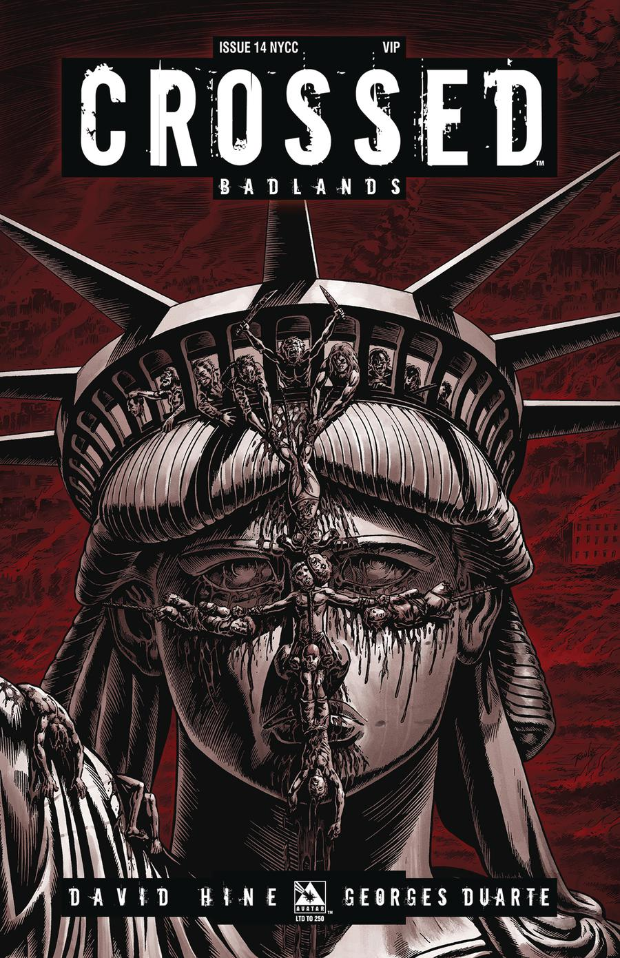 Crossed Badlands #14 Cover G New York VIP Cover