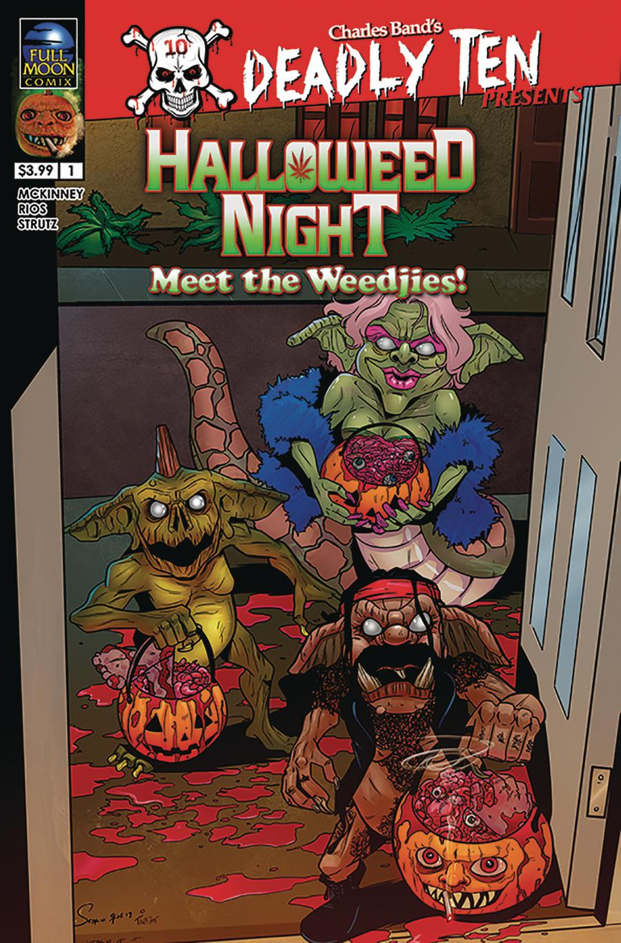 Deadly Ten Presents #2 Halloweed Night Meet The Weedjies Cover A Regular Sergio Rios Cover
