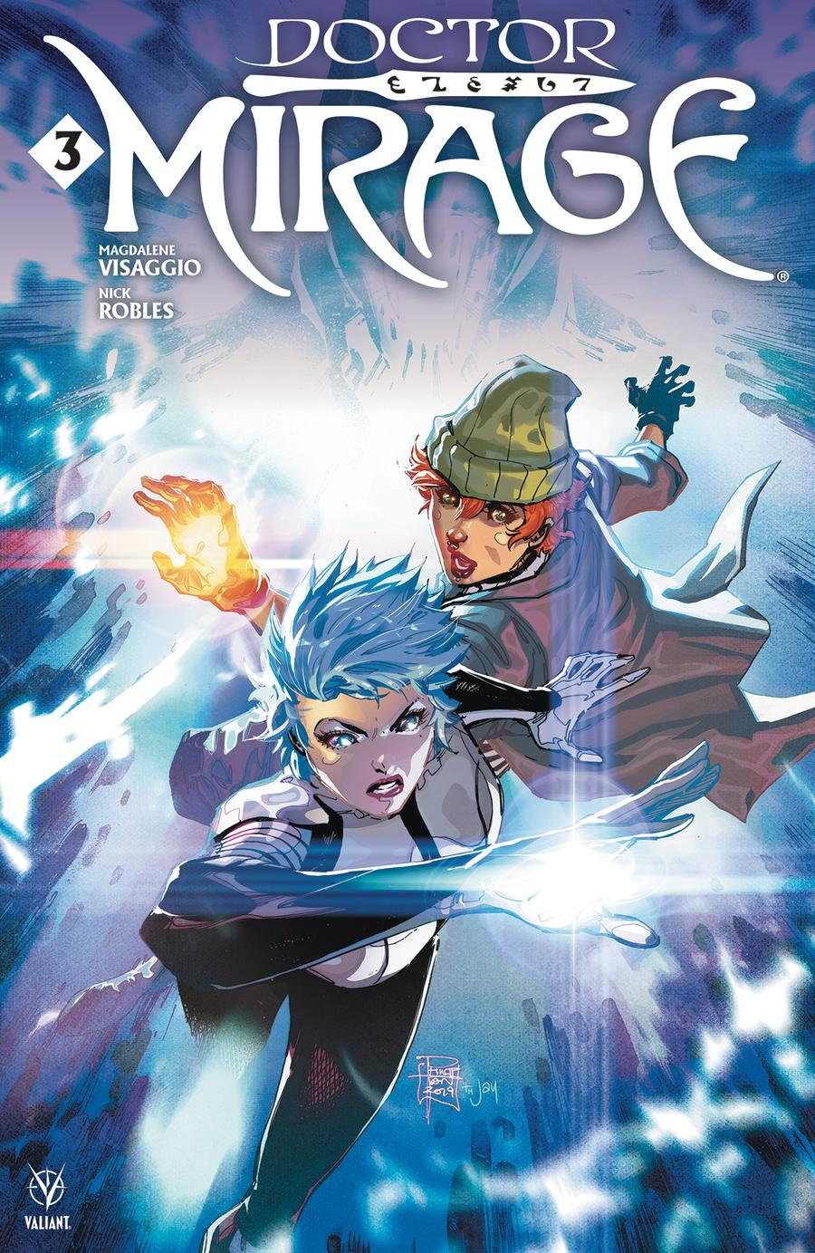 Doctor Mirage #3 Cover A Regular Philip Tan Cover