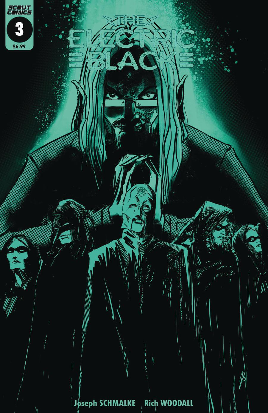 Electric Black #3 Cover B Variant Glow-In-The-Dark Cover
