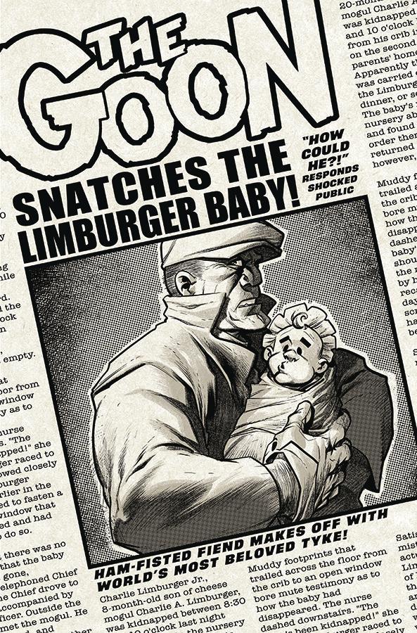 Goon Vol 4 #7 Cover A Regular Eric Powell Cover